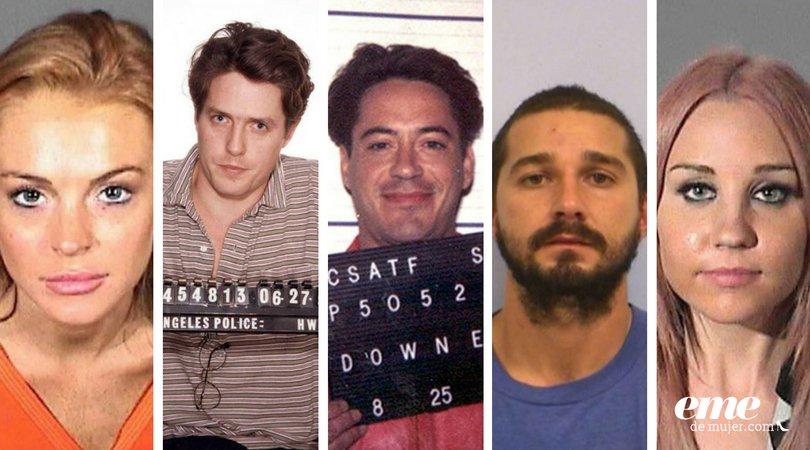 Famosos que han sido detenidos por graves delitos 😲