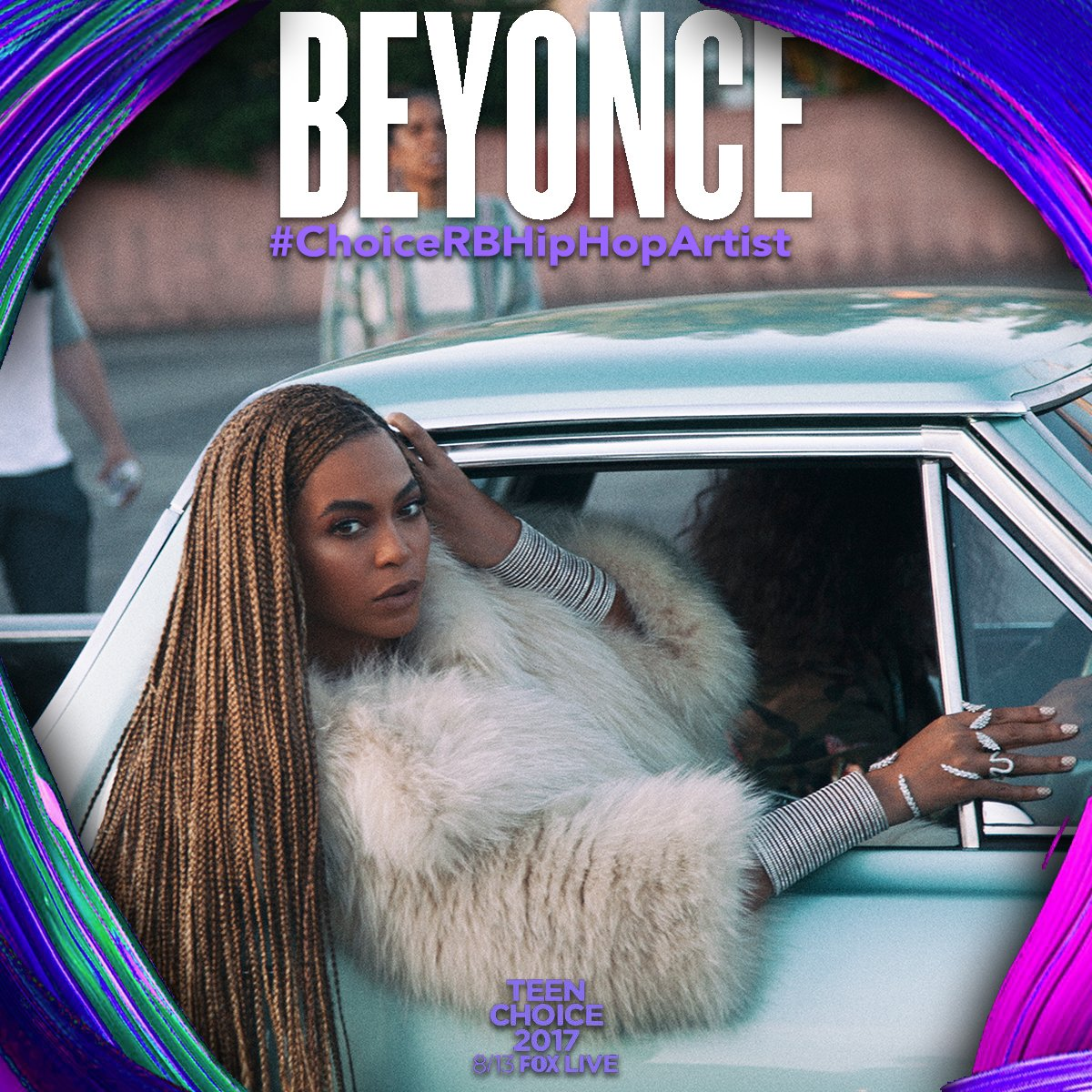 Don't forget to vote for @Beyonce! #TeenChoice #ChoiceRBHipHopArtist #ChoiceInstagrammer