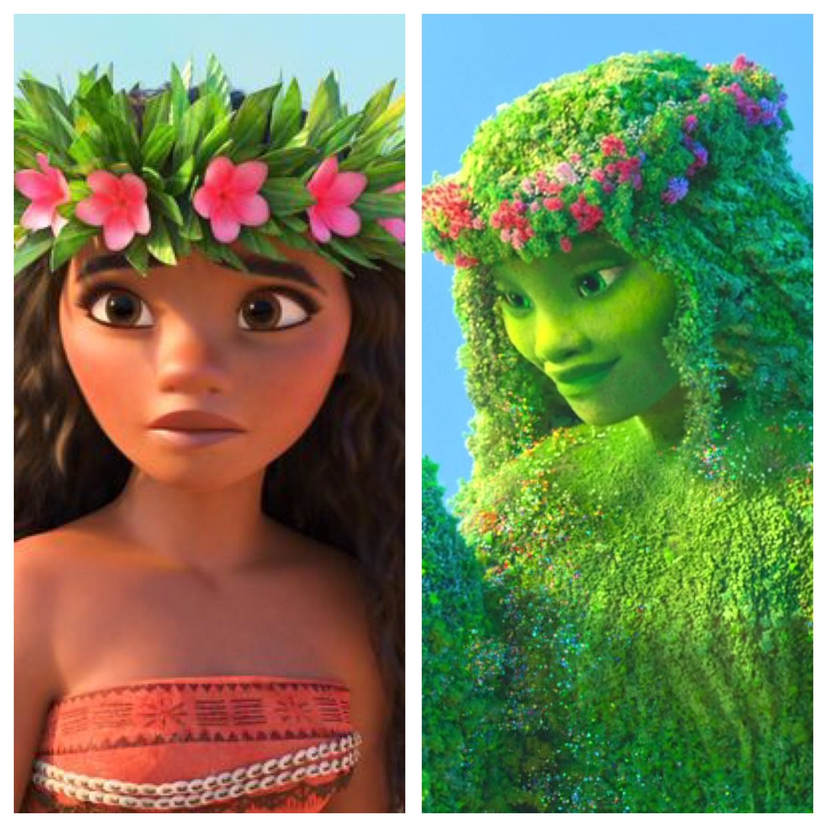 Moana is Te&#39;Fiti reborn so Maui can redeem himself, help transfer her nature heart to Te&#39;Ka &amp; stay human. #InstantFanTheory #Moana  #Disney<br>http://pic.twitter.com/QtvZmO08Ju