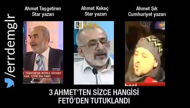 Ahmet'lerden hangisi fetö'den tutuklu si...