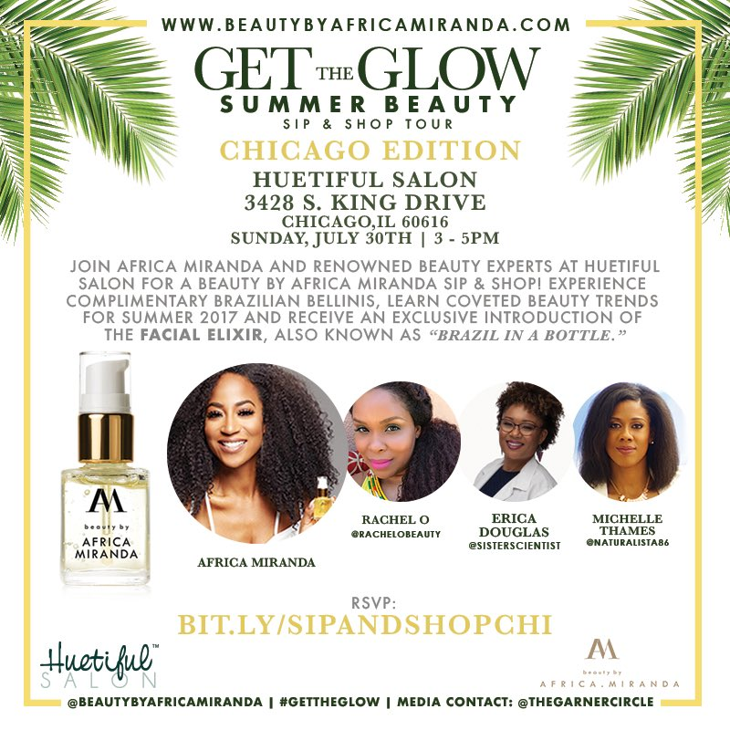 CHICAGO! The ✨Glow✨is coming July 30th! Join me & the city's best in beauty! RSVP here: https://t.co/oQF40DMZ3o https://t.co/arxkQVBshw