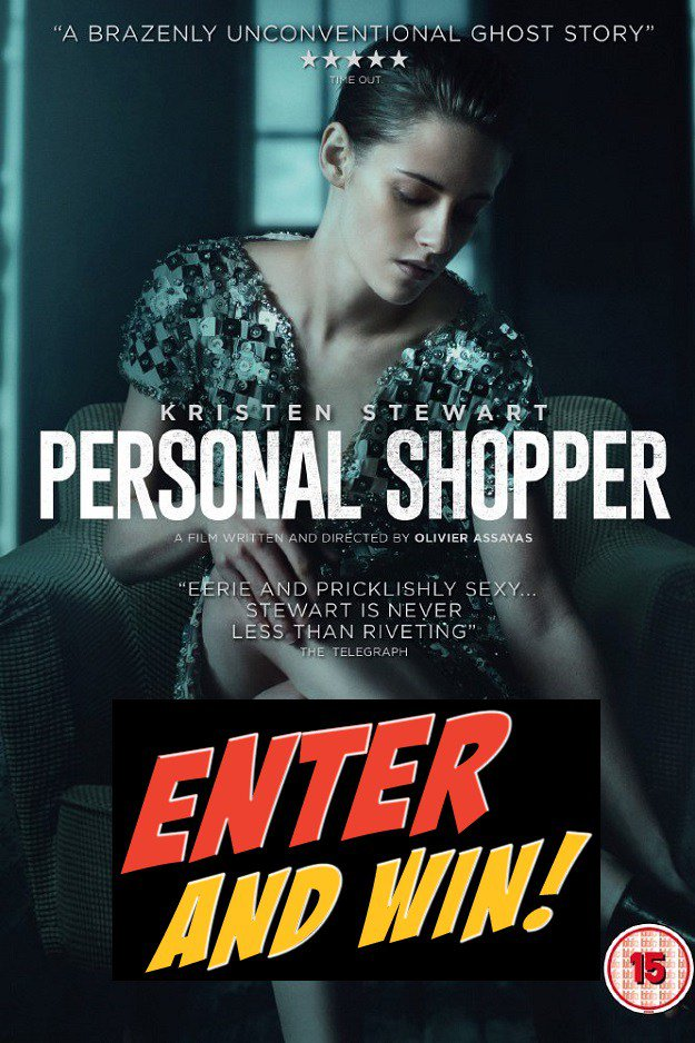 Win A Copy Of Personal Shopper On DVD – 3 Copies ToGiveaway https://t.co/W42T87sA2P