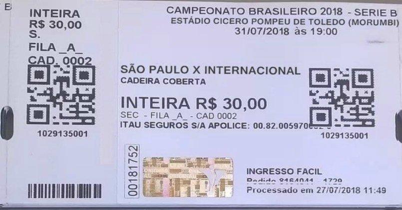 Ingressos para Inter x São Paulo pela Série B 2018 já começam a ser vendidos https://t.co/ti3xZiSL5C