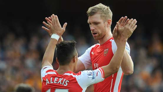 Per Mertesacker updates Arsenal fans about Alexis Sanchez's future https://t.co/dO7vfJ2nrk