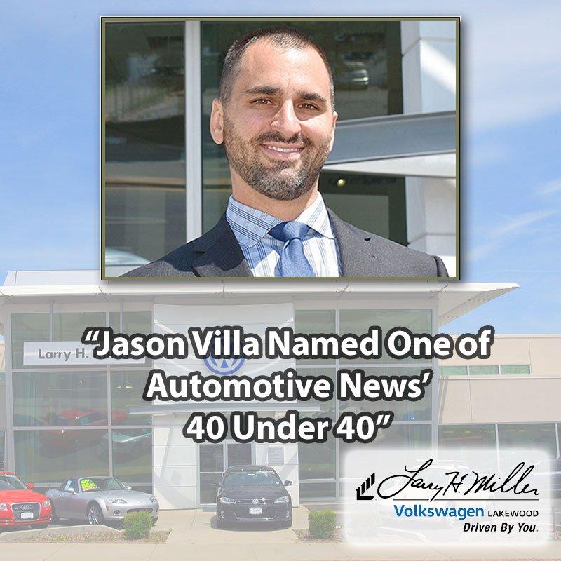 Larry H Miller Volkswagen >> Larry H Miller Auto On Twitter Jason Villa G Manager Of