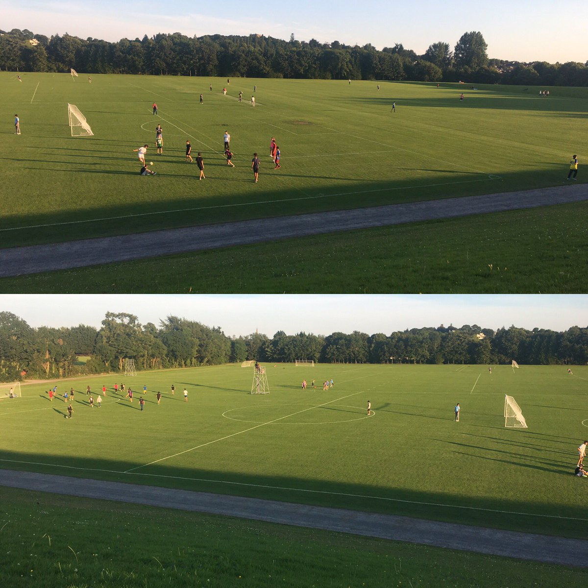 Great to see so many using @ULimsport pitches this fine evening #community #local #limerick #ul @UL #summer<br>http://pic.twitter.com/77Z9OESbxW