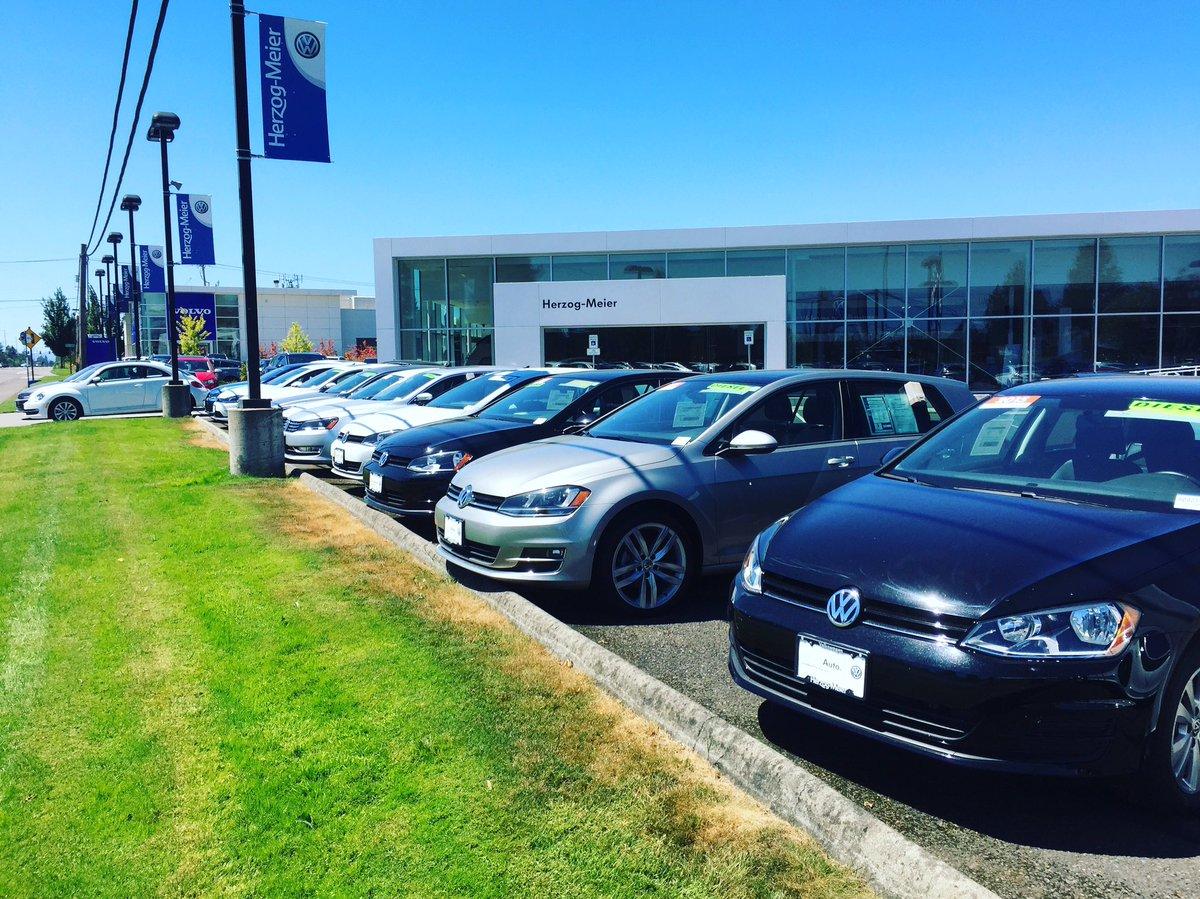 Herzog Meier Volvo >> Herzog Meier Volvo On Twitter Rows Of Volkswagen Tdi Models