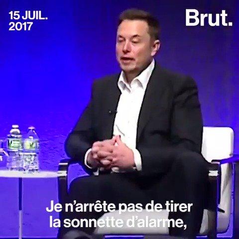 L'intelligence artificielle inquiète vraiment le milliardaire Elon Musk...