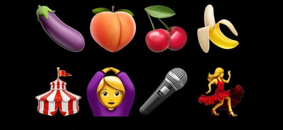 #repost Attention, vos emojis peuvent avoir un sens caché 🍆 🍑 🍒 🍌 #WorldEmojiDay https://t.co/JPpmbK2Ttb