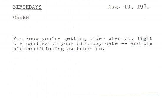 A few jokes for Phyllis Diller's birthday: https://t.co/bGmbQ1RR0X