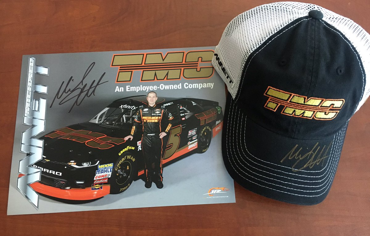 GIVEAWAY: You must RT this post and follow @TMCTRANS to be eligible to win this prize. Winner will be picked 7/19. #TeamMA #NASCAR #TMC <br>http://pic.twitter.com/WEEA1rv59x