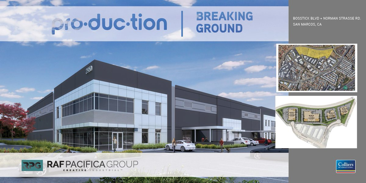 Colliers San Diego On Twitter At Rafpacifica Begins Construction On