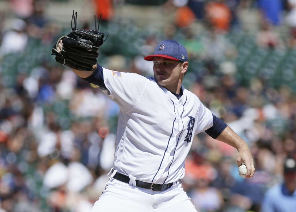 Rays have interest in Tigers LHP Justin Wilson, among other relievers