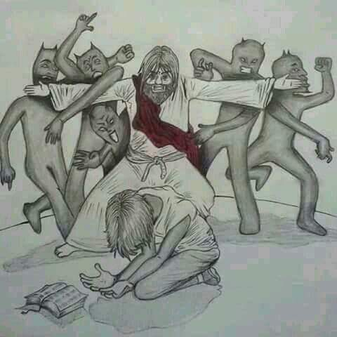 Jesus defend his own