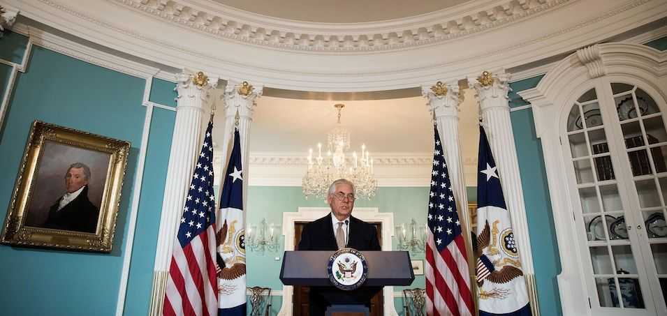 Tillerson to shutter State Department war crimes office. @columlynch reports. https://t.co/DngKl1k7Ec