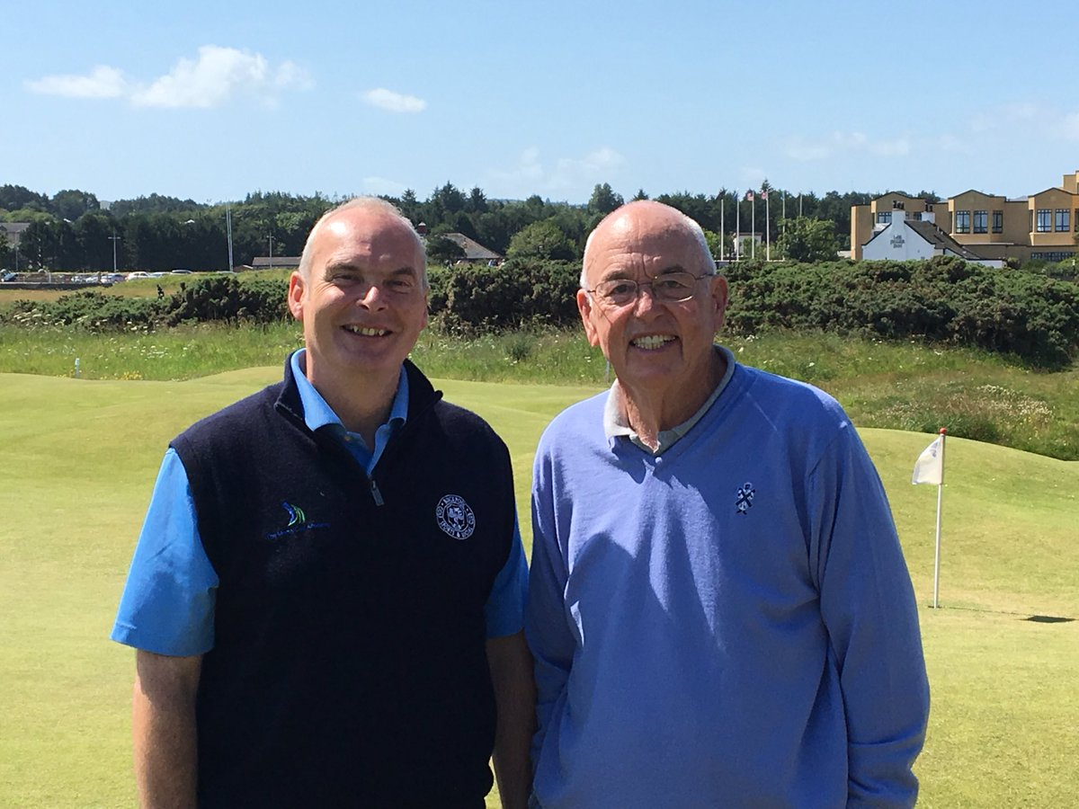 Had the privilege of spending time today with @FranklyGolf Frank Thomas and Valerie Melvin talking putting @PGAScotland @ScottishGolf #frog <br>http://pic.twitter.com/C8ZY95bK6u