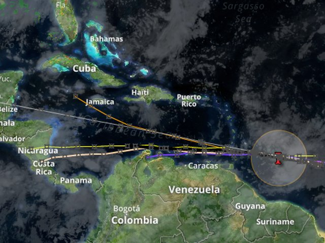 Tropical Storm Don forms east of the Windward Islands