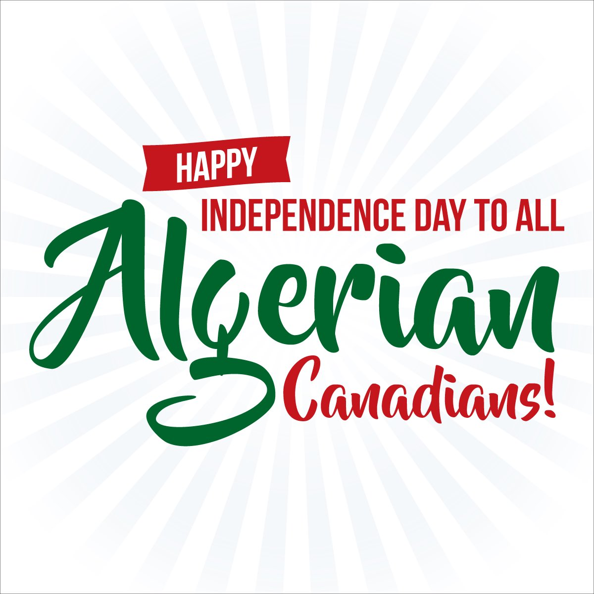 I wish all Algerian-Canadians celebrating a Happy Independence Day! #5juillet1962 <br>http://pic.twitter.com/t6JFeblfBo