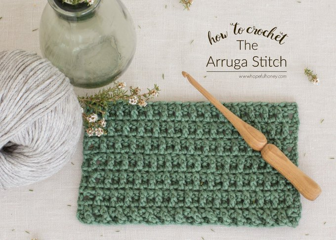 How To: Crochet The Arruga Stitch