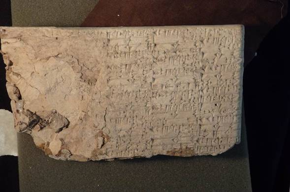 """GUYS—Hobby Lobby's president has personally been smuggling cuneiform tablets disguised as tile """"samples"""" out of Iraq https://t.co/bJ5COFlPuF"""