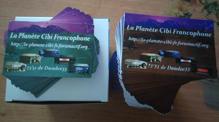 Dundee33 On Twitter Les Nouvelles Cartes De Visite Droite Du Forum La Plante Cibi Francophone Radio CB France Gironde 73