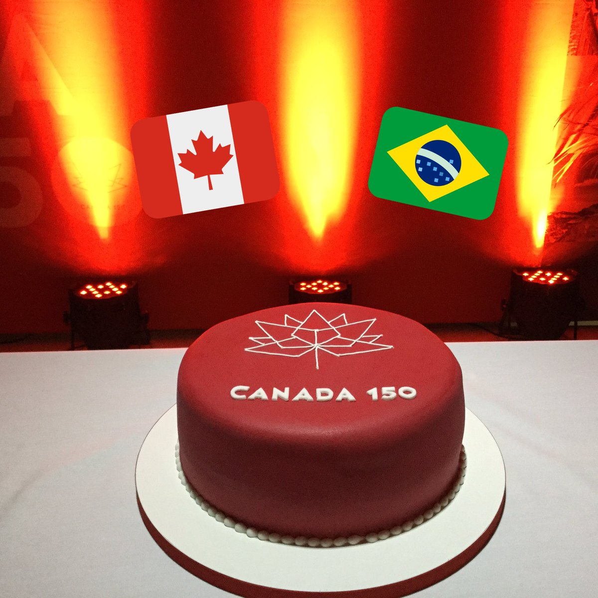 Tremendous Canada In Brazil On Twitter Nice Canada150 Birthday Cake In Funny Birthday Cards Online Chimdamsfinfo