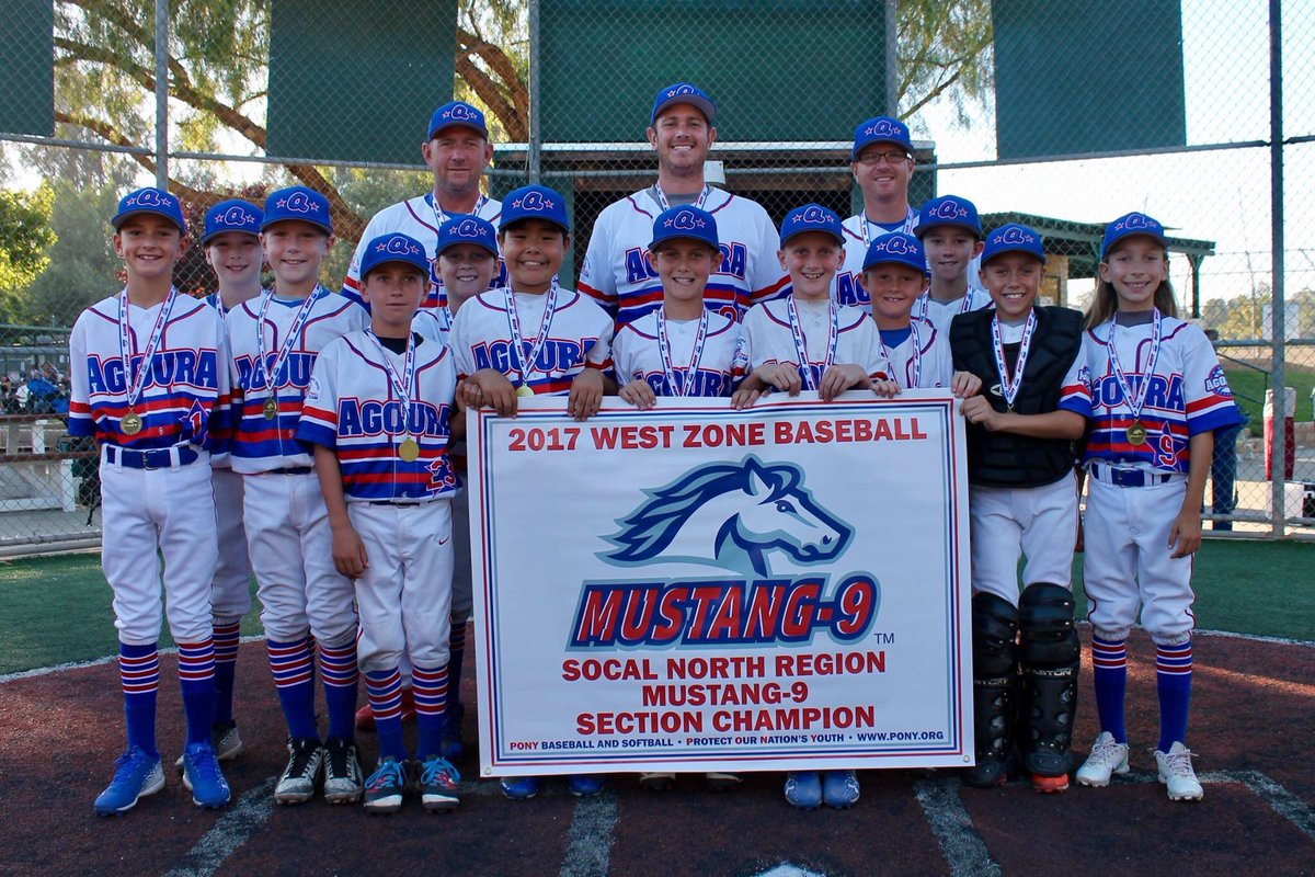 Agoura Pony Baseball On Twitter Congratulations To Our Mustang 9