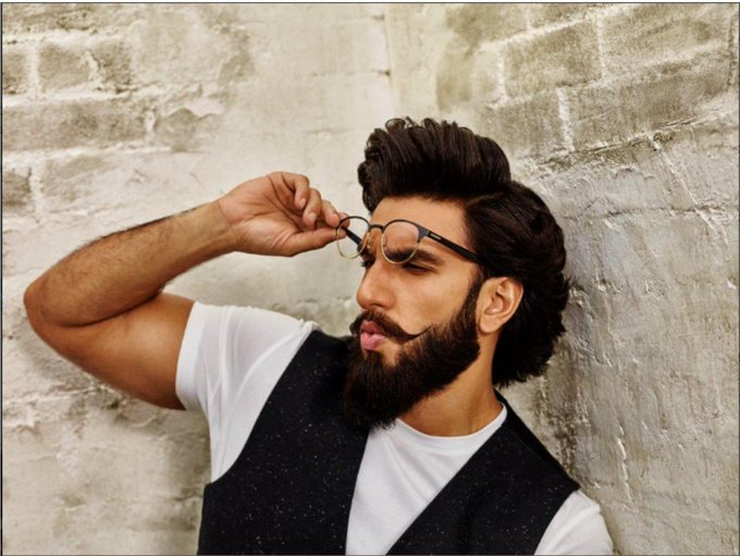 Already in love with this look. Happy Birthday Ranveer Singh