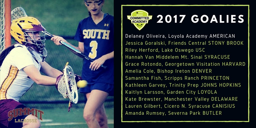 Summit Lacrosse Club >> Summit Lacrosse Club On Twitter Nations 12 Best Gks Il Committed