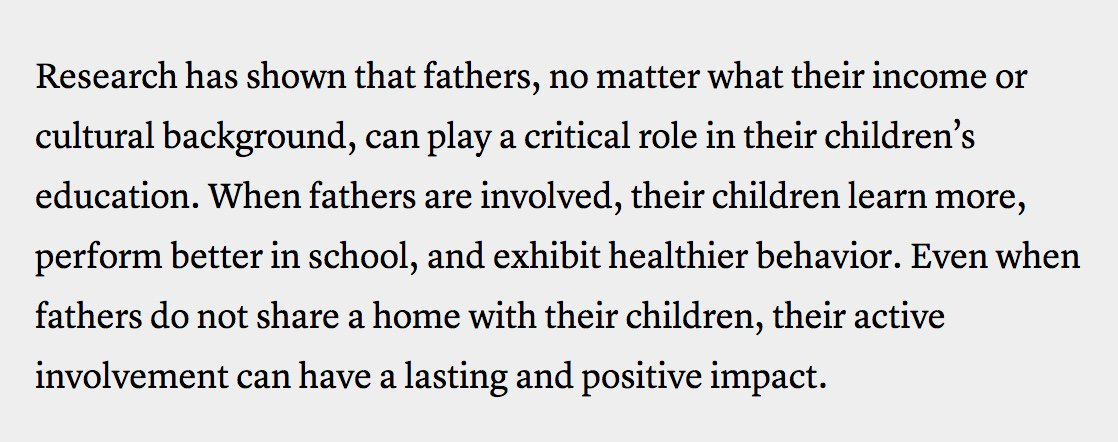 Why Dedicated Dads are Essential to Kids' Lives, via @TheAtlantic  https://t.co/Ji0JOBJYi5 https://t.co/ME6ahLJcuk