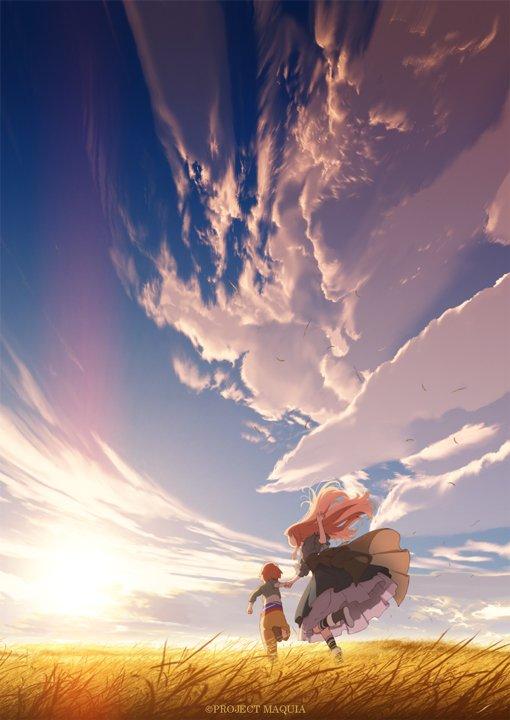 ついに発表!『あの花』『ここさけ』の岡田麿里が満を持して贈る一大感動巨編、映画『さよならの朝に約束の花をかざろう』は2018年2月24日(土)全国公開!ティザービジュアル完成!公式サイトオープン⇒sayoasa.jp #sayoasa pic.twitter.com/7PPnr9M07f