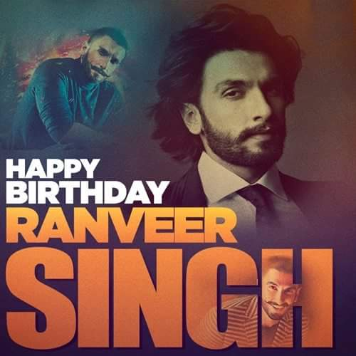 To The Most Electrifying Actor In Bollywood. Happy Birthday Ranveer Singh,
