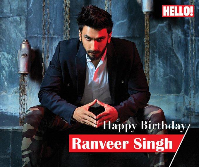 HELLO! wishes Ranveer Singh a very Happy Birthday