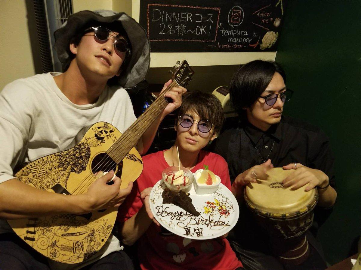 先日 #高杉真宙 の誕生した日を #久保田悠来 くんと一緒に祝ってきました。 まひろっち22才かぁ…