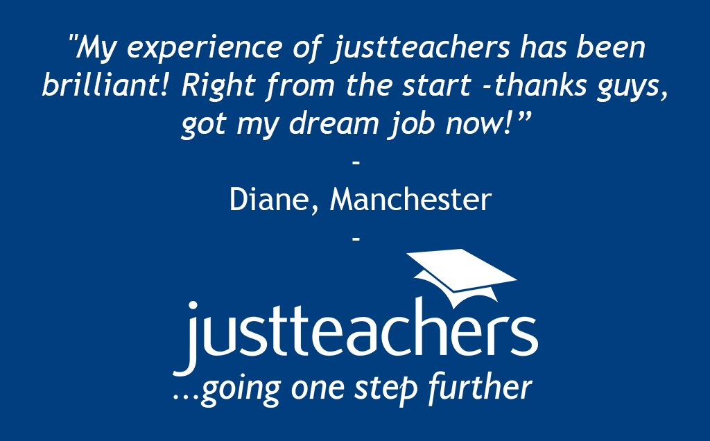 "test Twitter Media - We have just received a fantastic new testimonial for our #Manchester Branch! ""My experience of justteachers has been brilliant"" - Diane. https://t.co/9OsZpSIBCB"