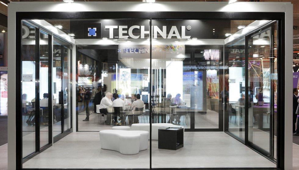 technal exhibi en sus nuevas series esbeltal y artyal construccin
