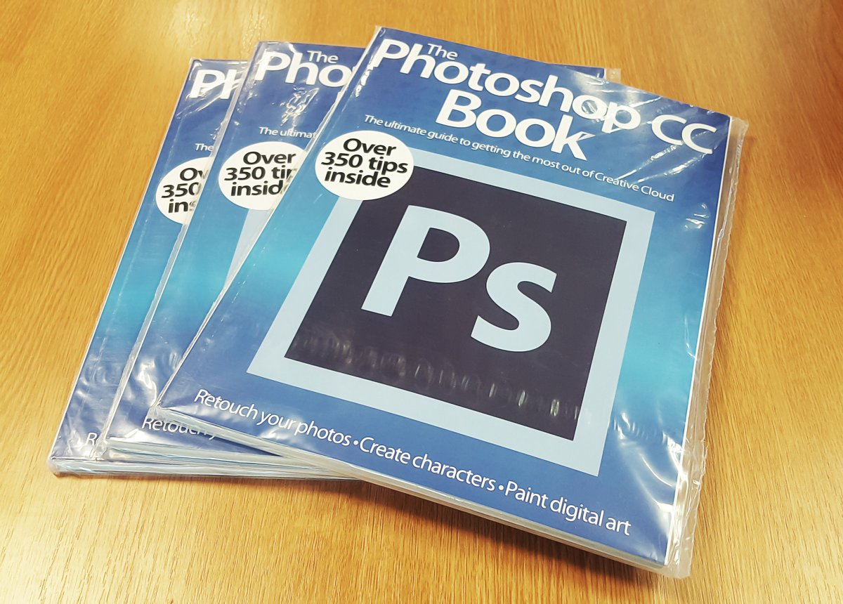 #GIVEAWAY!  Follow & RT to #win the #Photoshop CC book!  Three winners will be announced next Mon, 11am GMT https://t.co/x9gnFq6wCh