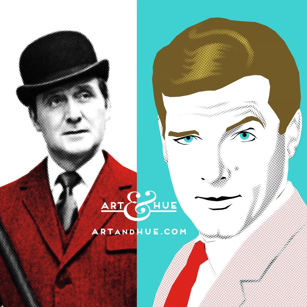 #OnThisDay in Japan 1985  #AViewToAKill with #RogerMoore as #JamesBond &amp; #PatrickMacnee     http:// artandhue.com/spies  &nbsp;     http:// artandhue.com/theavengers  &nbsp;  <br>http://pic.twitter.com/6iY73DS8nk