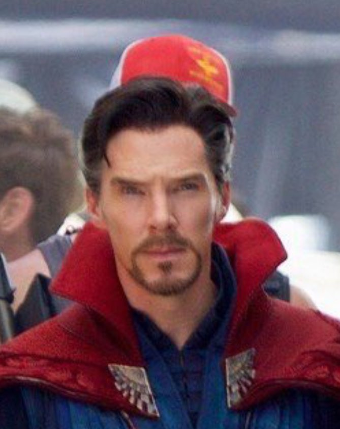 Cumberbuddy On Twitter Is Benedict Wearing A Wig For Strange Or