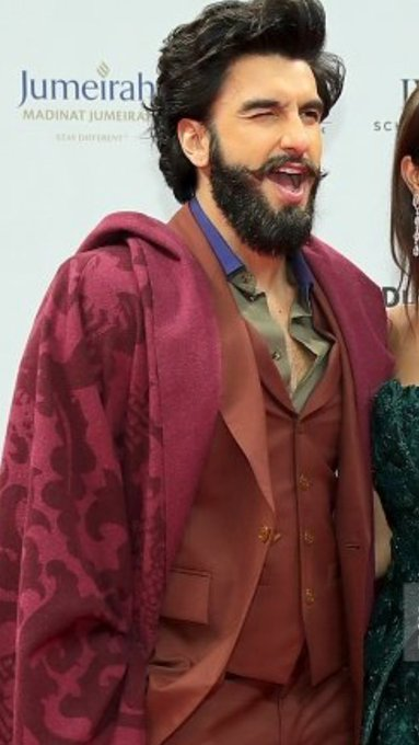 Talented, genuine, humble,kind hearted, beautiful inside and out   Happy Birthday Ranveer Singh