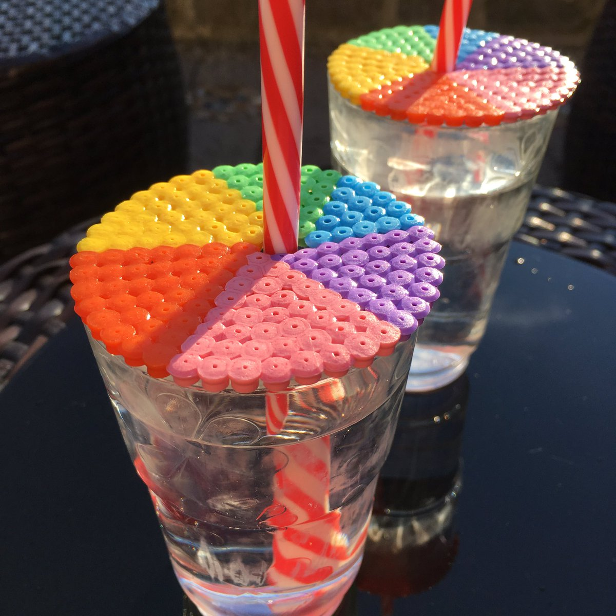 Hama bead cup toppers! -  http:// aboxofbuttons.wordpress.com/2017/07/05/ham a-bead-cup-toppers/ &nbsp; …  #diy #diyblog #wordpress #summer #summerdrinks #wordpress #wordpressblog #blog #hamabeads<br>http://pic.twitter.com/YmnW5fK5Yj