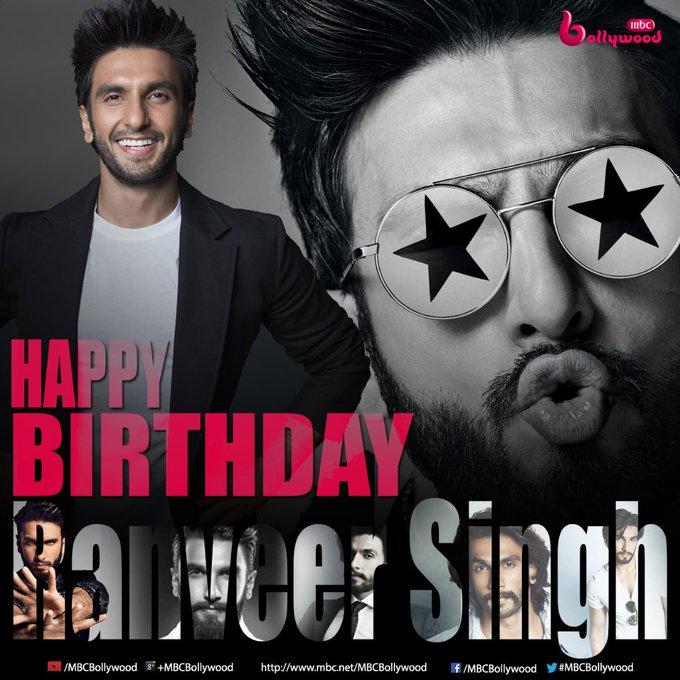 .. Happy Birthday Ranveer Singh