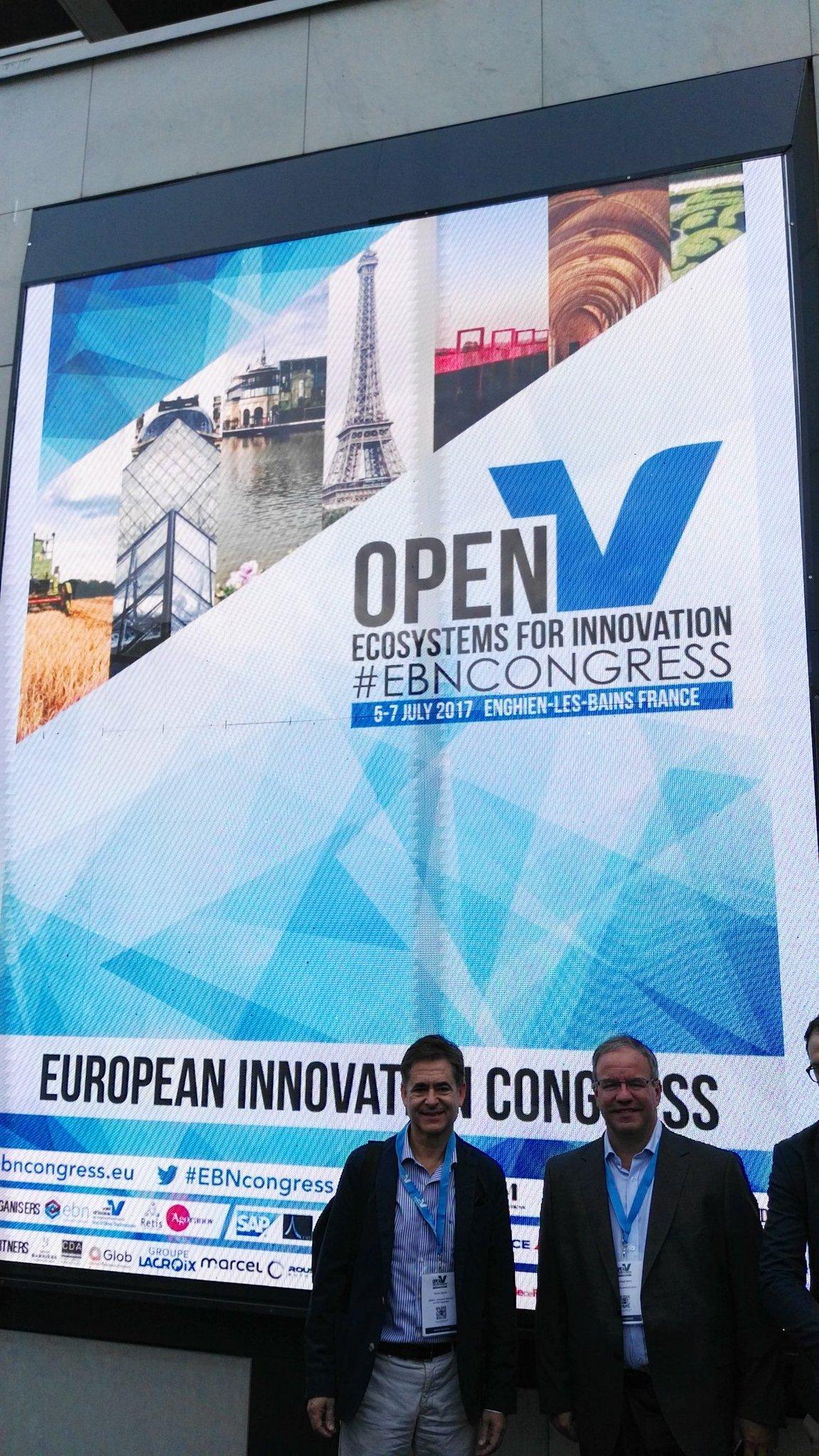 En el congreso anual de innovación en Paris EBN #EBNCONGRESS @BicEuronova @AncesSpain @EUBIC https://t.co/9tG3q4bdpu