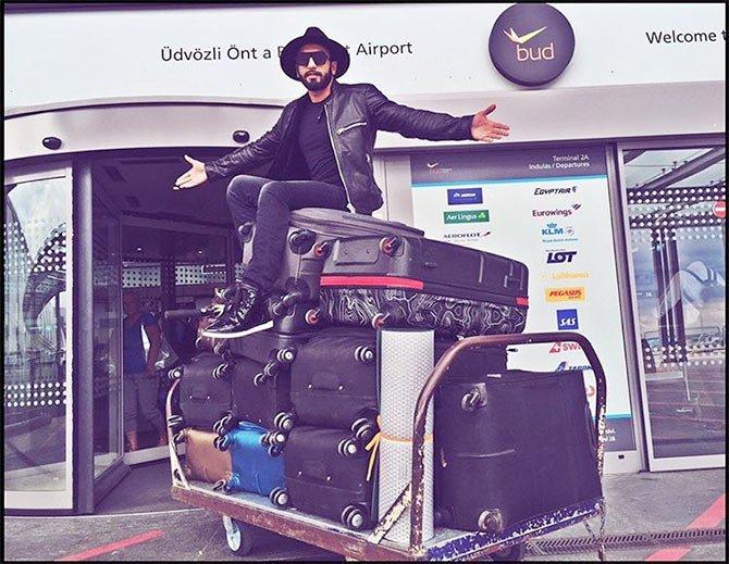 AMAZING Swiss holiday:   Happy Birthday Ranveer Singh