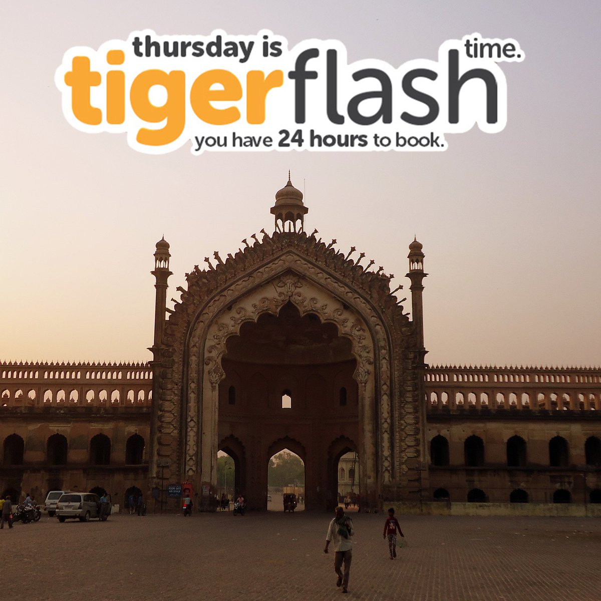 The famous Rumi Darwaza is part of the gorgeous Heritage Arc in India. Fly to Lucknow from only $125*: https://t.co/sPkPCr9K5R #Tigerflash https://t.co/zLMxjEP9Qx