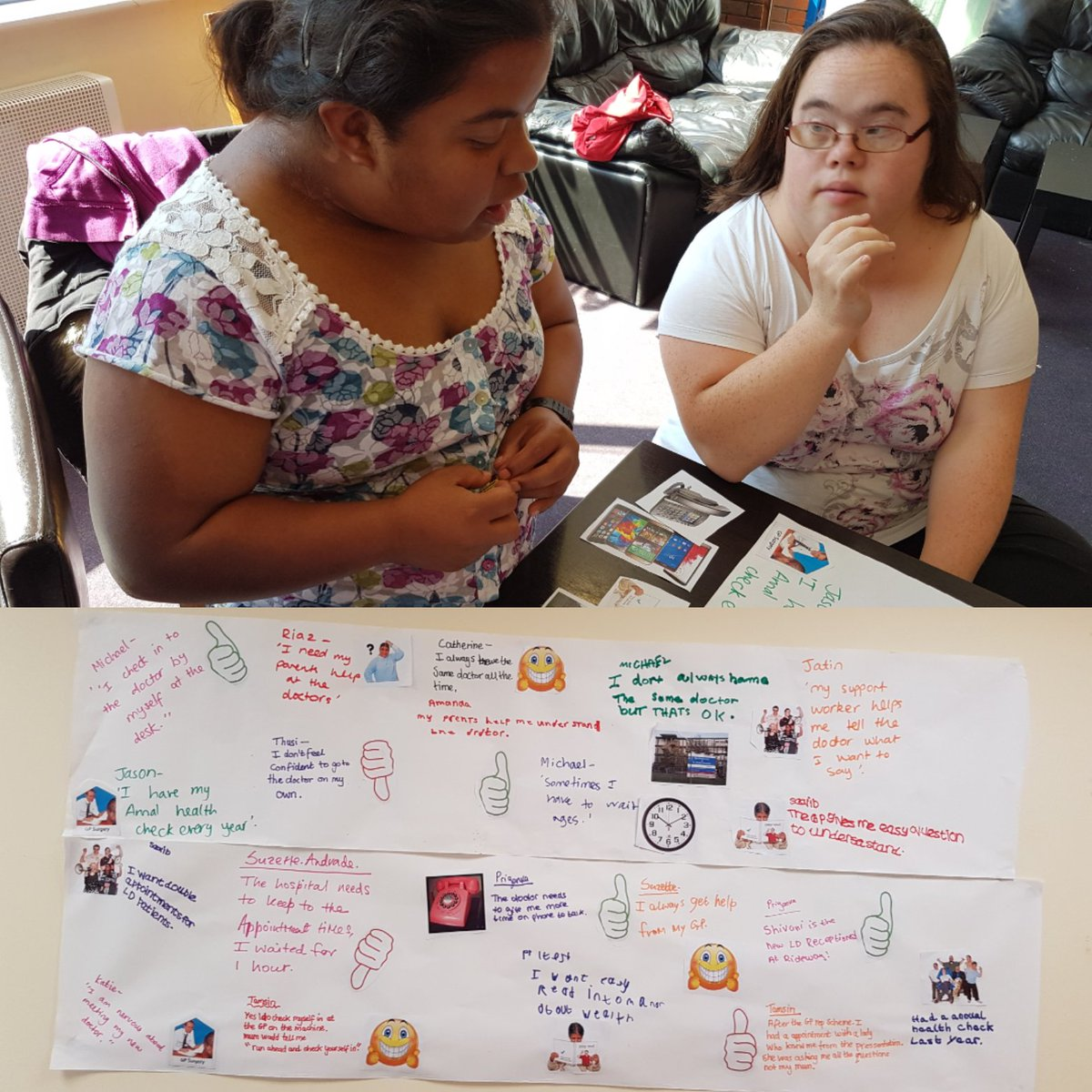 "harrow mencap on twitter: ""speak up now did a workshop at the red"