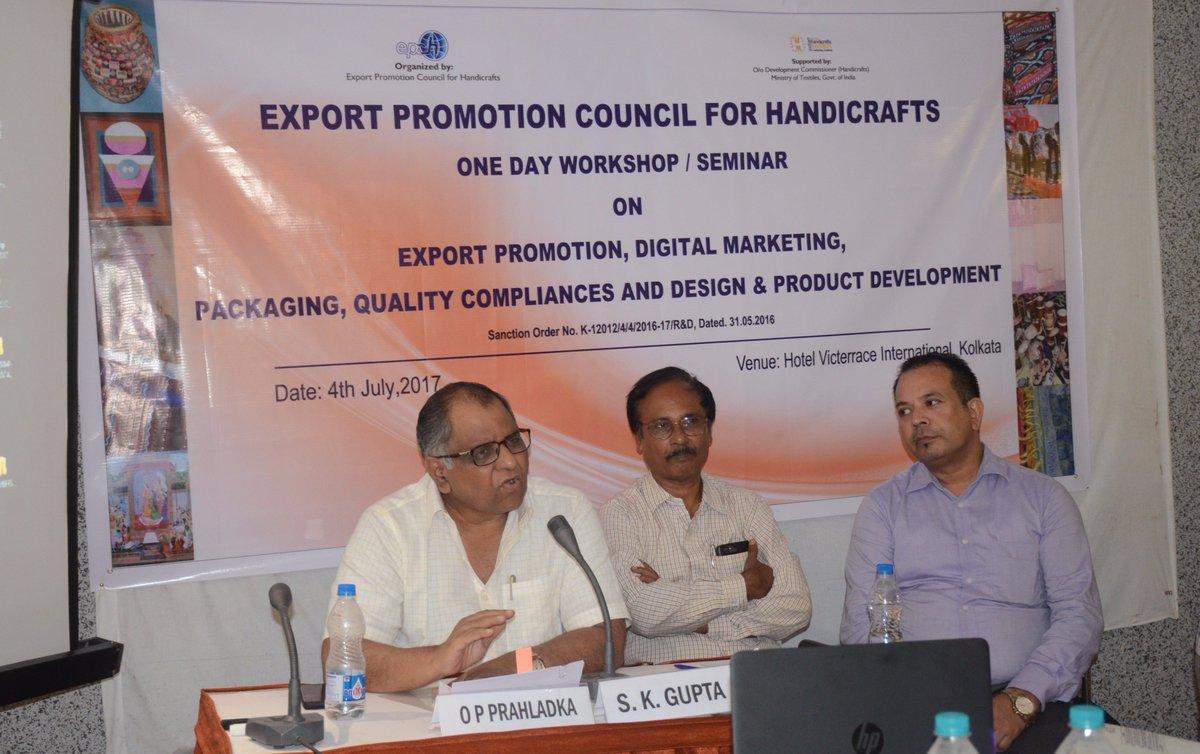 Epch India On Twitter Workshop On Export Promotion Market
