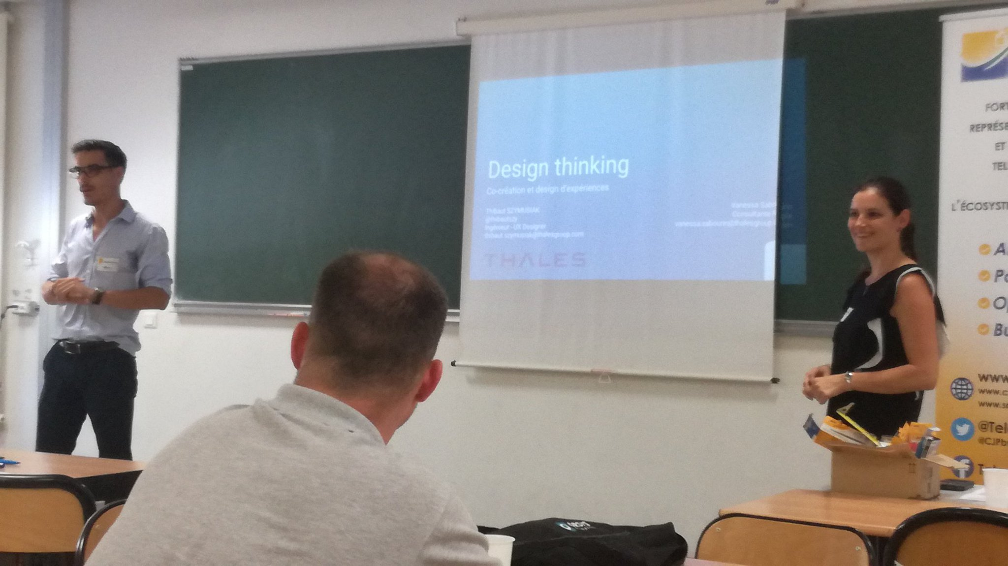 Design thinking workshop #SophiaConf2017 by @TelecomValley https://t.co/lFdrWx6phA