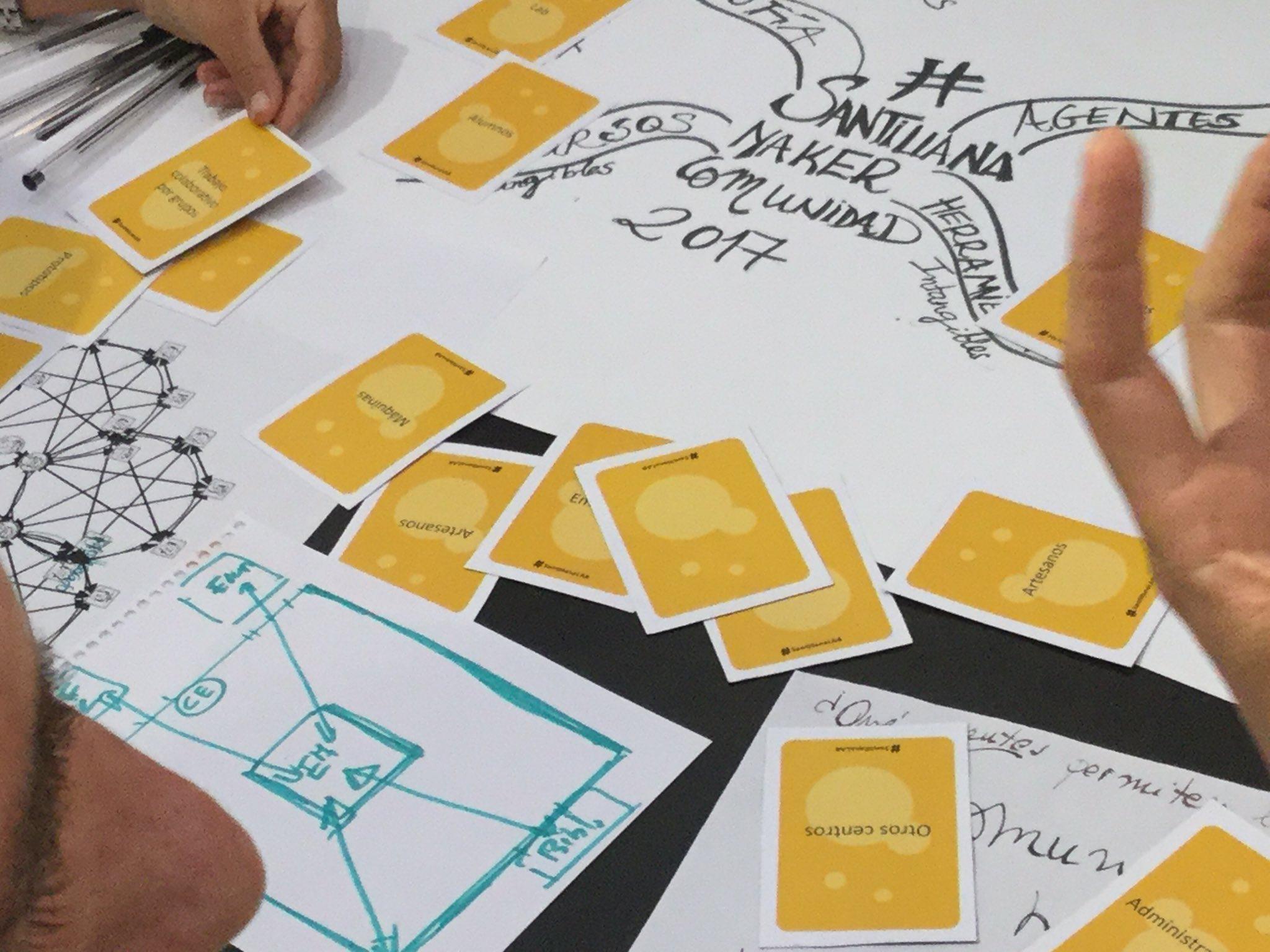 """""""El #espaciomaker lo hace nada por sí mismo. Lo hacen los #makers"""" #santillanaLAB https://t.co/STDASJwpFV"""