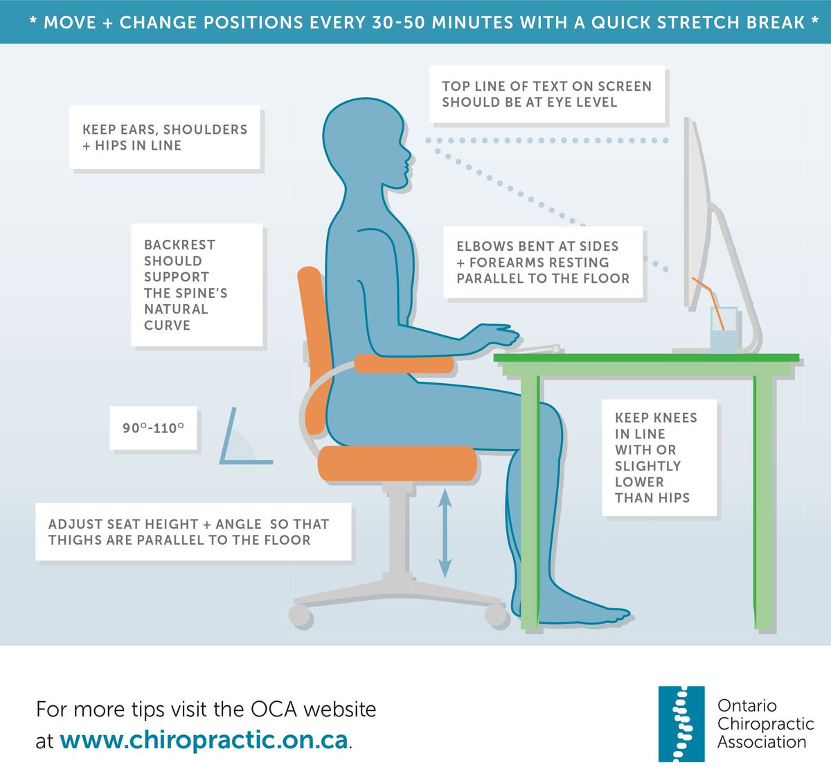 Fabulous Ontario Chiropractic Association On Twitter Poor Office Caraccident5 Cool Chair Designs And Ideas Caraccident5Info